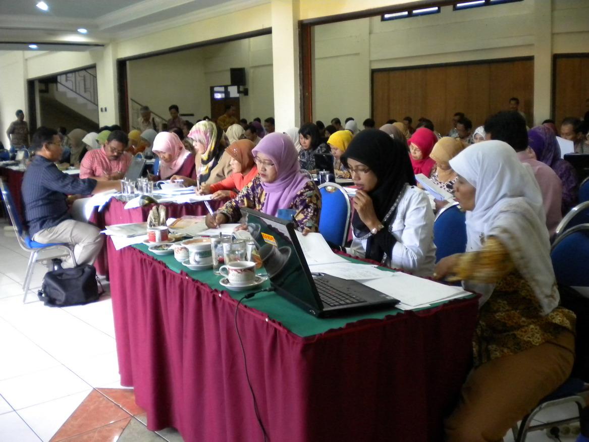 Workshop Penyusunan Bank Soal Sekolah Dasar Se Jawa Timur Tahun