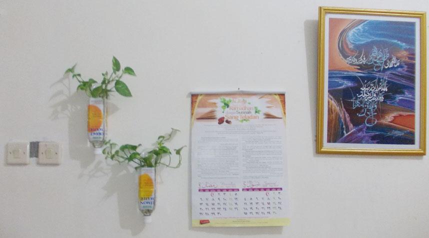 cara membuat hiasan rumah yang segar dan minimalis dari
